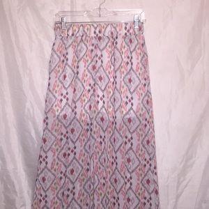 Miss Avenue ⭐️ Aztec sheer pants w/shorts Sz L ⭐️